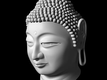 仏像のモデリング