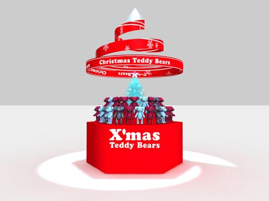 クリスマス用ディスプレイイメージ
